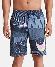"Nike Men's Mesh Up Vital Printed 9"" Quick-Dry Board Shorts"
