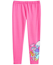 Trolls by DreamWorks Little Girls Graphic-Print Leggings