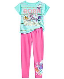 Toddler & Little Girls Graphic-Print T-Shirt and Leggings