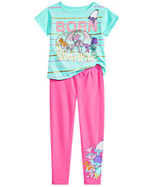 Trolls by DreamWorks Toddler & Little Girls Graphic-Print T-Shirt and Leggings