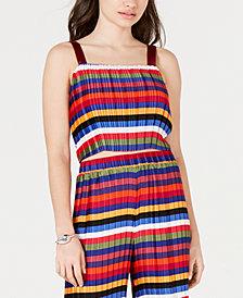 Lucy Paris Aurora Rainbow Crop Top