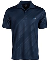 766e39a0 Attack Life by Greg Norman Men's Embossed Logo Polo