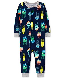 Carter's Baby Boys 1-Pc. Jellyfish-Print Cotton Pajamas