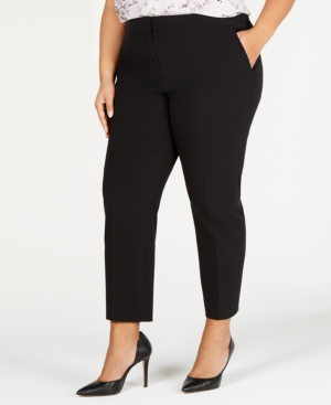 Bar III Plus Ankle Pants, Created for Macy's