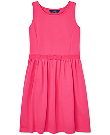 Polo Ralph Lauren Big Girls Ponté-Knit Dress