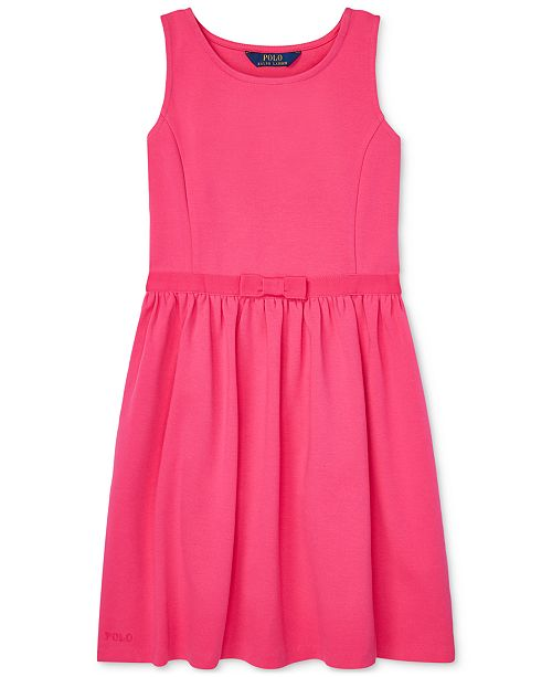 Polo Ralph Lauren Big Girls Ponté-Knit Dress