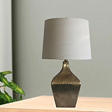 """5161 Pair of 28"""" Mercury Glass Table Lamps"""