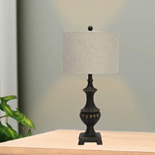 "Fangio Lighting's 6263 29"" Pedestal Urn Madison Resin Table Lamp"