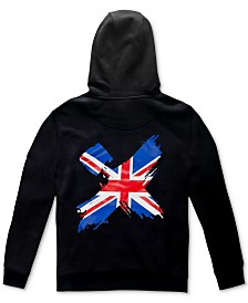 H4X Men's International Flag Back Logo Hoodie
