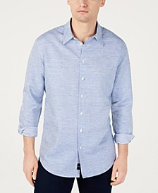 Men's Fine Striped Shirt, Created for Macy's