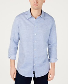 DKNY Men's Fine Striped Shirt, Created for Macy's