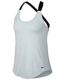 Nike Dri-FIT Elastika Strappy Back Tank Top