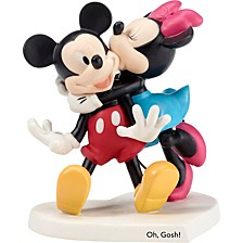 Disney Showcase Mickey and Minnie 'Oh Gosh!' Figurine