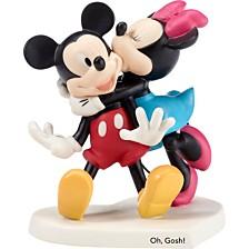 Precious Moments Disney Showcase Mickey and Minnie 'Oh Gosh!' Figurine