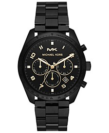 Men's Keaton Black Stainless Steel Bracelet Watch 43mm