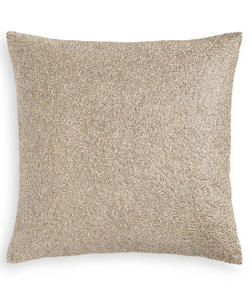 """Hotel Collection Luxe Border 18"""" x 18"""" Decorative Pillow, Created for Macy's"""