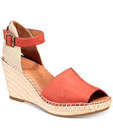 Gentle Souls by Kenneth Cole Charli Espadrille Wedge Sandals