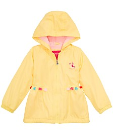 London Fog Toddler & Little Girls Hooded Toucan Jacket