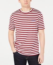 HUGO Hugo Boss Men's Striped Logo T-Shirt