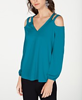 9b52af3d1af0ff Cold Shoulder Tops  Shop Cold Shoulder Tops - Macy s