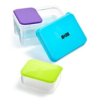 Art & Cook 4 Piece Lunch Container Set with Ice Pack