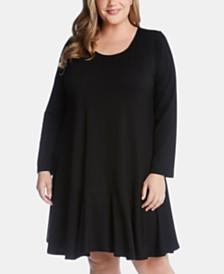 Karen Kane Plus Size Dakota Dress