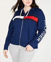 59f2c2fe40b2 Tommy Hilfiger Sport Plus Size Colorblocked Logo Hoodie. Quickview. 2 colors