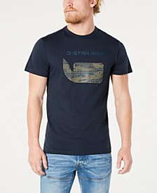 Men's Hamburger Logo Graphic T-Shirt, Created for Macy's