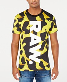 G-Star RAW Men's Bumble Frog Logo T-Shirt, Created for Macy's