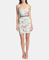 GUESS Sleeveless Printed-Lace Sheath Dress 69f231800
