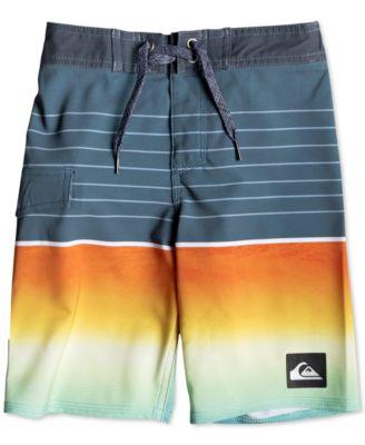 Quiksilver Little Highline Slab Boy 14 Boardshort Swim Trunk