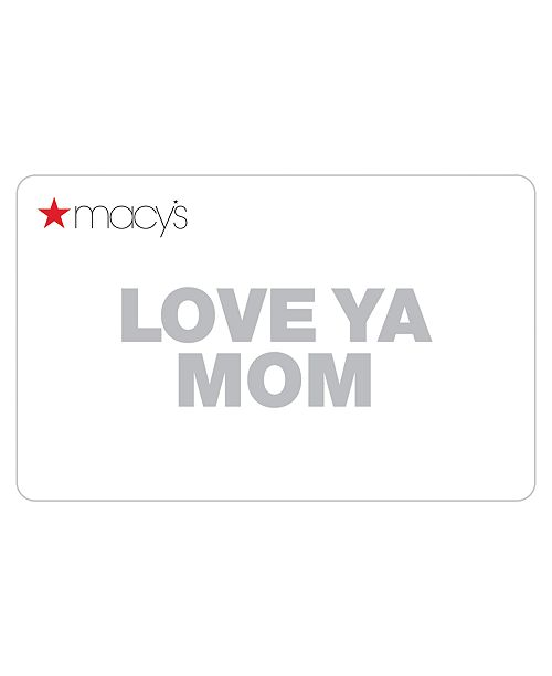 Macy's Mother's Day Card with Greeting Card