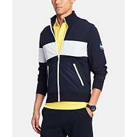 Tommy Hilfiger Men's Mariner Full-Zip Mock-Neck Sweater
