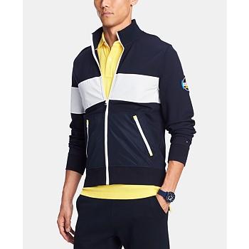 Tommy Hilfiger Men's Mariner Full-Zip Mock-Neck Sweater