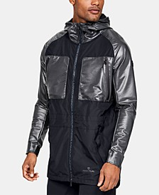 Men's Mixed-Media Hooded Parka