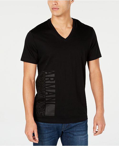 A X Armani Exchange Men's Slim-Fit Logo T-Shirt
