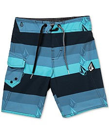 Volcom Toddler Boys Stripe Board Shorts