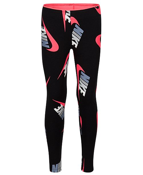 Nike Toddler Girls Futura Logo Printed Leggings