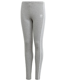 adidas Big Girls Originals 3-Stripe Leggings