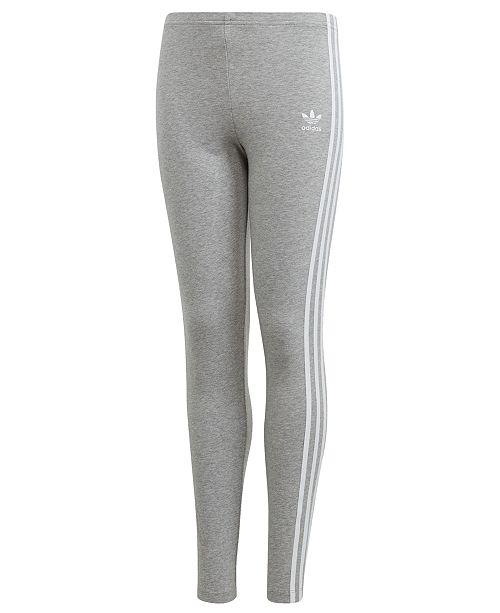 bde8f63c2 adidas adidas Big Girls Originals 3-Stripe Leggings & Reviews ...