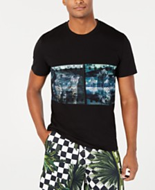 Just Cavalli Men's Tropical Logo Graphic T-Shirt