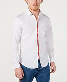 Just Cavalli Men's Slim-Fit Woven Shirt