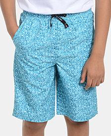 Calvin Klein Big Boys Mosaic Volley Swimsuit
