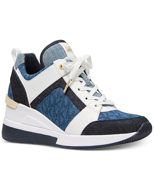 44ffe86869e Michael Kors Georgie Trainer Sneakers   Reviews - Athletic Shoes ...