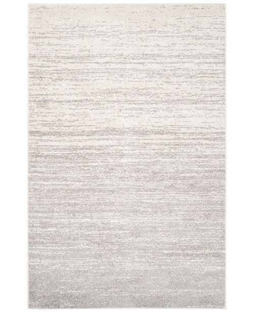 "Safavieh Adirondack Ivory and Silver 5'1"" x 7'6"" Area Rug"