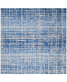 Safavieh Adirondack Blue and Silver 6' x 6' Square Area Rug
