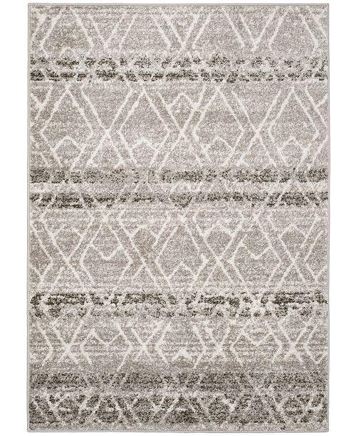 Safavieh Adirondack Silver and Ivory 4' x 6' Area Rug
