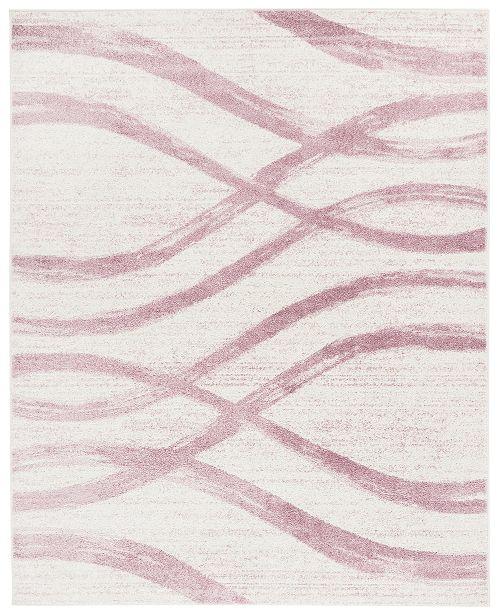 Safavieh Adirondack Cream and Purple 8' x 10' Area Rug