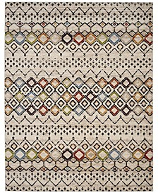 Amsterdam Ivory and Multi 8' x 10' Area Rug