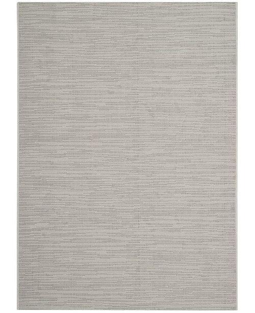 "Safavieh Courtyard Light Gray 4' x 5'7"" Sisal Weave Area Rug"